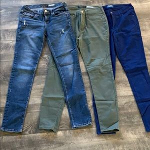 3 Pairs of Jeans!! Barely worn!